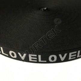 Резинка с логотипом 15 мм