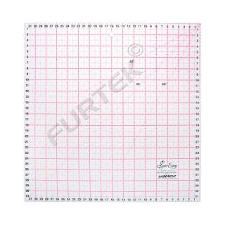 Линейка для пэчворка Hemline квадратная Sew Easy, 32х32 см, метрическая разметка