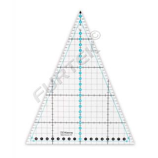 Линейка для пэчворка Gamma треугольная