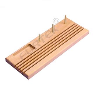 Подставка деревянная для линеек пэчворк