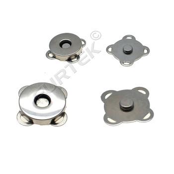 Магнитные кнопки пришивные диаметр 19 мм с проволочными ушками