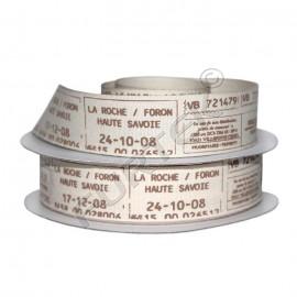 Хлопковая лента натуральная 22 мм