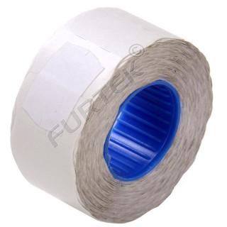 Этикет-лента для нумерации кроя со специальным клеем 26х12х1500 белая, волна, для нумератора кроя (клей средний)