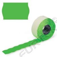 Этикет лента для этикет пистолета 26х16мм, зеленая волна