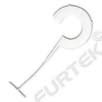 """Пластиковые крючки, соединители """"пульки"""" с крючком для бирок для Motex MTX-05R"""