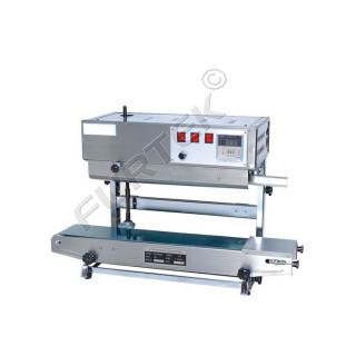 Запайщик пакетов конвейерный (роликовый) с поворотной головой DBF-900LW (SF-150)