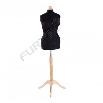 Манекен женский портновский раздвижной, размер 50-58