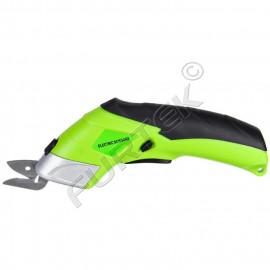 Электрические аккумуляторные ножницы с 2 лопастями для плотной ткани