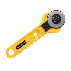 Нож раскройный круглый макси Hobby&Pro, диаметр лезвия 45 мм