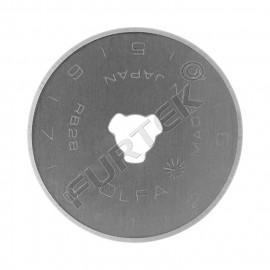 Лезвие круглое  для ножей OLFA OL-RB28-2, размер 28х0,3 мм