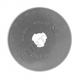 Лезвие круглое для ножей OLFA OL-RB45-1, размер  45х0,3 мм
