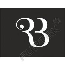 Пластиковая пломба-замочек с логотипом 11,5х8,5 мм