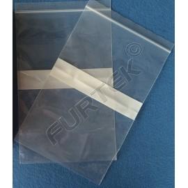 Прозрачный пакет с застежкой Zip-Lock 15x22 см