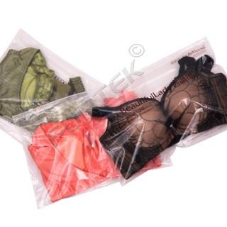Упаковка для нижнего белья с застежкой zip-lock
