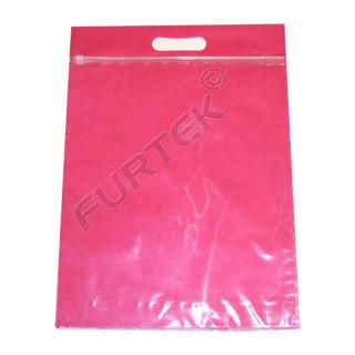 Пакеты zip-lock для одежды с бегунком и вырубными ручками