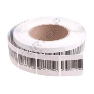 Защитная деактивируемая радиочастотная этикетка 5х5 см