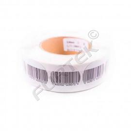 Круглая радиочастотная противокражная этикетка диаметр 40 мм