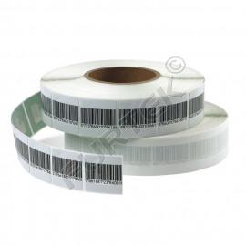 Деактивируемая защитная метка со штрих-кодом 3х3 см