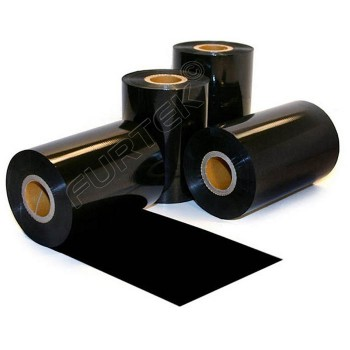 Черная термотрансферная лента Resin Textile 300 м
