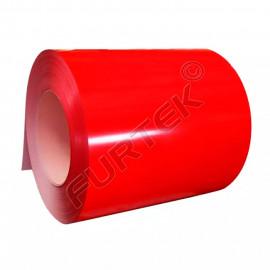 Красные риббоны UN020RE WAX (воск) для термотрансферного принтера