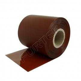 Коричневые риббоны для термотрансферного принтера UN020BR на основе воска