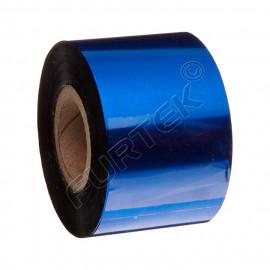 Синие риббоны для термотрансферного принтера UN020BL на основе воска