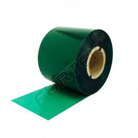 Зеленые риббоны для термотрансферного принтера UN020GN на основе воска