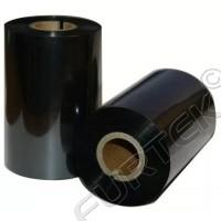 Универсальный черный термотрансферный риббон 74 м