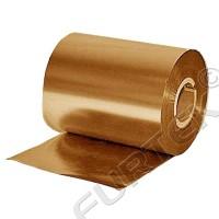 Металлизованный золотой риббон на основе смолы Resin 74 м