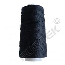 Армированные специальные нитки 200ЛЛ черные