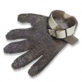 Перчатка кольчужная пятипалая без манжеты