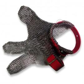Перчатка кольчужная трехпалая