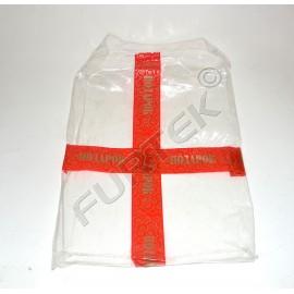 Объемный пакет с липким клапаном для постельного белья 420х320 мм прозрачный