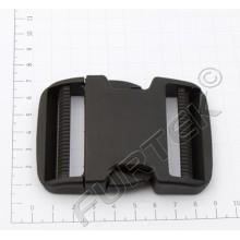 Фастекс 50 мм пластик цв черный (уп 50 шт) Ф-50