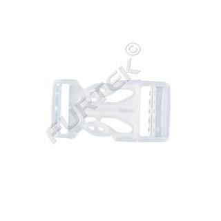 Фастекс 20 мм пластик цв прозрачный (уп 50 шт) НФ-20