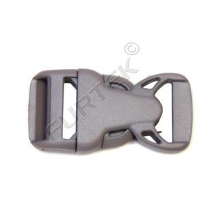 Фастекс 25 мм пластик цв чёрный (уп 50 шт) НФ-25