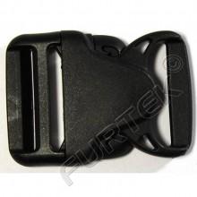Фастекс 38 мм пластик цв черный (уп 50 шт) НФ-40