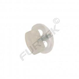 Фиксатор пластик 2211 для двух шнуров (уп 500, 1000 шт)