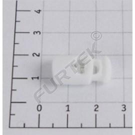Фиксатор пластик Z38-4 (шнур 4 мм) (уп 1000шт)