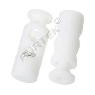 Фиксатор шнура пластиковый Z38-4 (шнур 4 мм) (уп 1000шт)