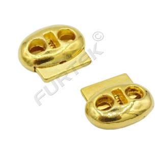 Фиксаторы для 2-х шнуров под металл (шнур 4мм) АР