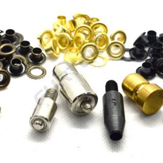 Люверсы металлические 5 мм, в упаковке 5000 штук