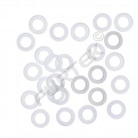 Пластиковые кольца под люверс 14 мм усилители