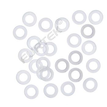 Пластиковые кольца под люверс 14 мм