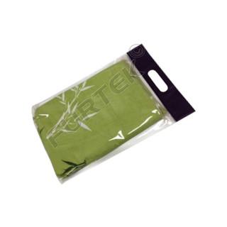 Пакет с вырубной ручкой и донной складкой