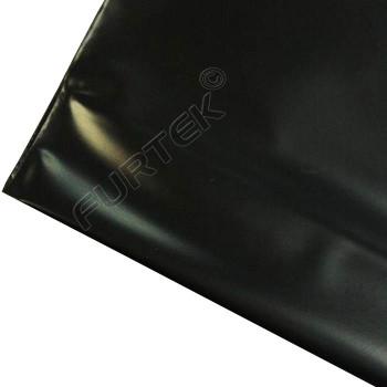 Пакет ПВД с укрепленной ручкой 60х50, 70 мкм, черный