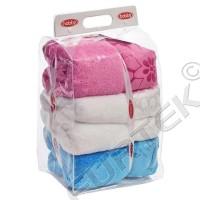 Объемный пакет из ПВХ с еврослотом 130х40х125 мм для текстиля