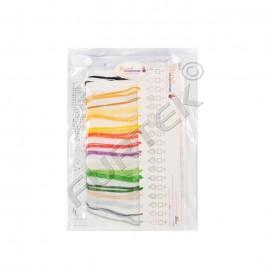 Объемный пакет с клапаном на застежках-кнопках для одежды и текстиля
