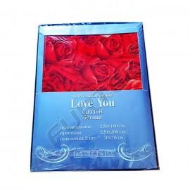 Упаковка для постельного белья Объемный пакет с липким клапаном 420х320 мм прозрачный