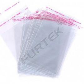 Плоский пакет со скотч-клапаном для упаковки постельного белья